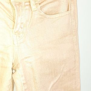 Lucky Brand Jeans - Lucky Charlie Skinny Iridescent Rose Gold Jeggings